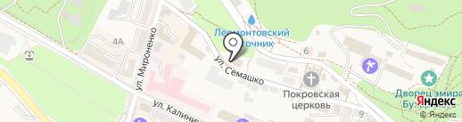 Центр гигиены и эпидемиологии на карте Железноводска