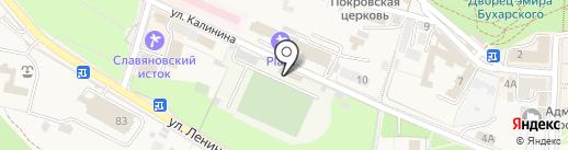 Государственная инспекция труда в Ставропольском крае на карте Железноводска