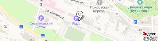 МОСКОВСКИЙ ЮВЕЛИРНЫЙ ЗАВОД на карте Железноводска
