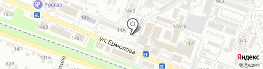 Росмедтех на карте Пятигорска