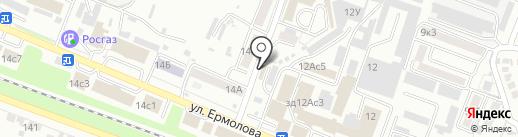 Адам и Ева на карте Пятигорска