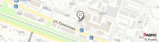 Стройсервис на карте Пятигорска