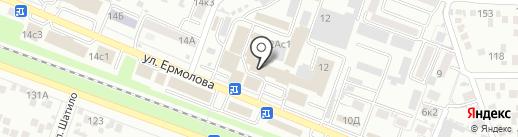 Три комнаты на карте Пятигорска