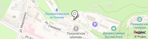Общекурортная бактериологическая лаборатория на карте Железноводска