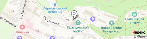 Храм Покрова Пресвятой Богородицы на карте Железноводска