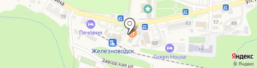 Фотоцентр на карте Железноводска