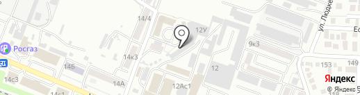 Бумага-С на карте Пятигорска
