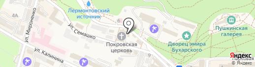 Краеведческий музей на карте Железноводска
