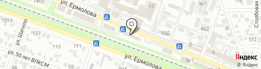 Микки на карте Пятигорска