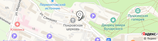 Оазис на карте Железноводска