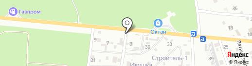 Ярмарка растений на карте Пятигорска