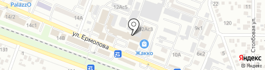Романов на карте Пятигорска