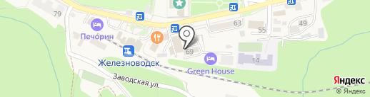 Мировые судьи г. Железноводска на карте Железноводска