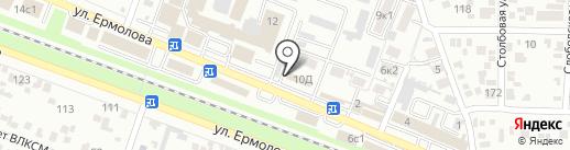 ЗОВ на карте Пятигорска