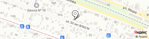 Фаворит на карте Пятигорска