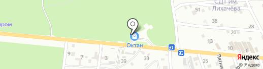 АЗС НК-Октан на карте Пятигорска