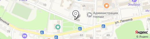Банк Новый Символ на карте Железноводска