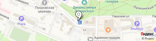 Магазин одежды на карте Железноводска