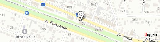 ИНТЕРСТРОЙ-СК на карте Пятигорска