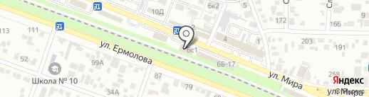 СпортExtreme на карте Пятигорска