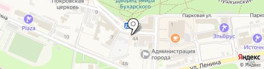 Трикотажные изделия на карте Железноводска