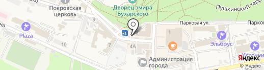 Архивный отдел на карте Железноводска