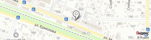 Алкомаркет на карте Пятигорска