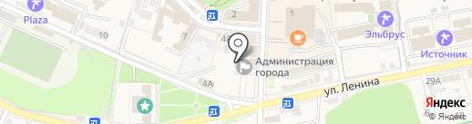 Общий отдел на карте Железноводска