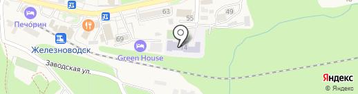 Лицей №2 на карте Железноводска
