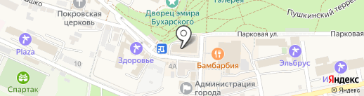 Салон Царинной на карте Железноводска
