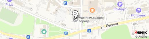 Отдел по мобилизационной подготовке и ЧС на карте Железноводска