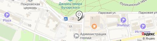 Prado Cafe на карте Железноводска