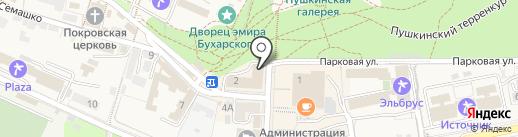 Универмаг на карте Железноводска
