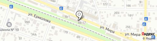Сэндвич-Pub на карте Пятигорска