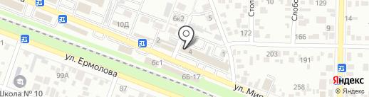 Пятигорскторгтехника на карте Пятигорска
