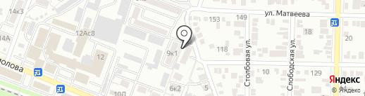 Миафарм на карте Пятигорска