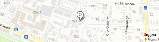 Monroe на карте Пятигорска