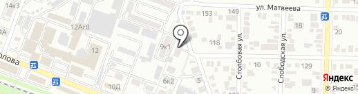 ГастрономЪ на карте Пятигорска