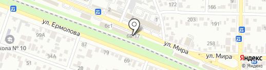 Semin на карте Пятигорска