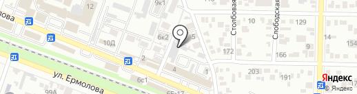 URentCar.ru на карте Пятигорска