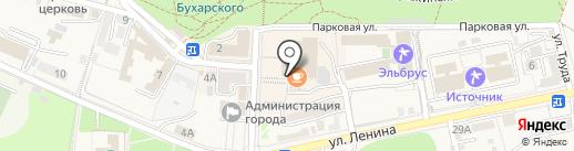 Кинотеатр на карте Железноводска