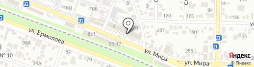 Магазин специализированной мебели на карте Пятигорска
