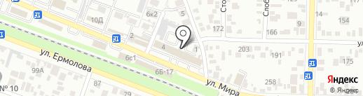 СТУДИЯ 26 на карте Пятигорска