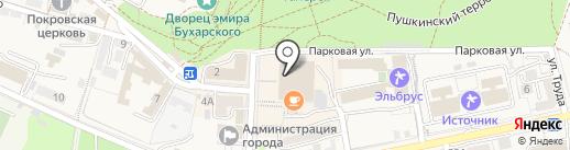 Светский Театр Дегустаций на карте Железноводска