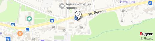 Банкомат, Банк Новый Символ на карте Железноводска