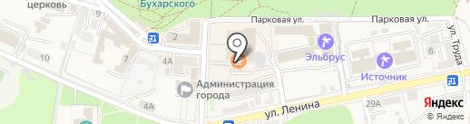 Счастье на карте Железноводска