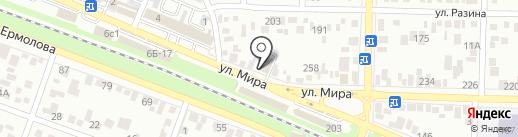Арт-Керамика на карте Пятигорска