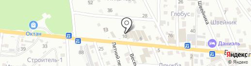 Жестянщик на карте Пятигорска
