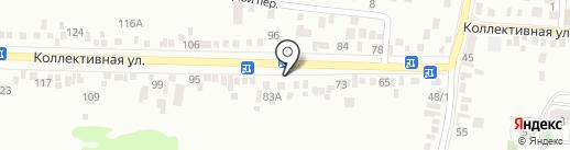 Т.Д. Груня на карте Пятигорска