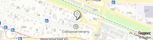 Пицца на дровах на карте Пятигорска